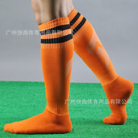 Men's Sport Football Baseball Soccer Striped Socks Over Knee High Sock HockeyNew