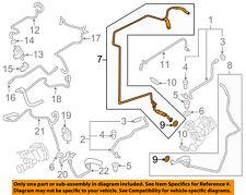 PORSCHE OEM 11-14 Cayenne Turbocharger Turbo-Oil Feed Tube Right 94810709261