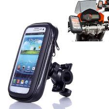 """Bike Motorcycle Handlebar Phone Mount 5.5""""Waterproof Bag Mount Holders For Phone"""
