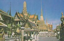 BANGKOK(Thailand) : The Temple  of the Emerald Buddha in Bangkok-PAN-AM