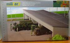Herpa 745499 Military Gebäudebausatz Fahrzeugunterstand Scale 1 87 NEU OVP