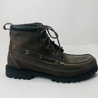 Timberland Earthkeepers Brown Leather Lace Up Trail Outdoor Boots Mens Size 9