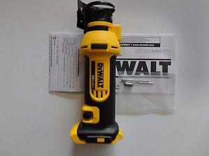 DeWALT DCS551B 20V 20 Volt Li-Ion Max Cordless Rotary Drywall Cut-out Tool New