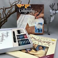 SHEAFFER Calligraphy Set & Handbook Vintage No Nonsense Fountain Pen w Nibs