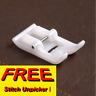 SEWING MACHINE TEFLON ATTACHMENT PRESSER FOOT + FREE UNPICKER FLASH SALE! sa/10
