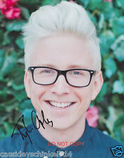 "Tyler Oakley Reprint Signed 8x10"" Photo #1 RP YouTube LGBT Podcast"