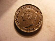 Canada 1899 5 Cents XF/AU