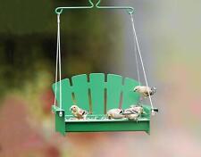 Stokes Select 38267 Snacks 'N' Treats Platform Porch Swing Bird Feeder NEW