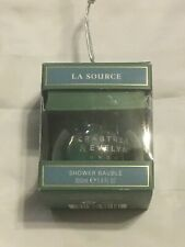 New! Crabtree & Evelyn Bauble La Source Body Wash Ornament 3.4 oz Holiday
