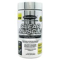 Muscletech Clear Muscle 168 Liquid Caps Build Gain Lean Muscle Free Shipping