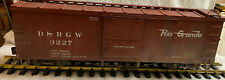 Accucraft AMS AM2201-32 D&RGW Narrow Gauge Box Car #3327 1:20.3 Scale with Box