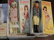Vintage Skipper and Skooter Dolls and Original Boxes