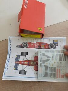 Kit Ferrari Tameo F1-87 Tmk376 1/43