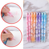 3pcs 0.5/0.7mm Cute Mechanical Automatic Pencil Eraser School Writing Supply DD