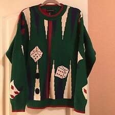 Exclusively For SAKS Fifth Avenue Vintage Game Sweater Size L