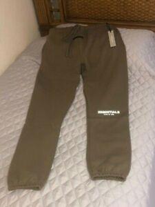 Fear of God Essentials Sweatpants - Harvest - Size Medium and Large