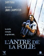 ANTRE DE LA FOLIE MOUTH OF MADNESS Pellicule Cinéma Movie Trailer JOHN CARPENTER