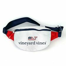 Vineyard Vines for Target Fanny Pack Whale Red White Blue Exclusive Euc