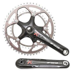 FSA SL-K 2x 10s Carbon Road Bike Crankset 175mm 53/39T 130 BCD Triathlon Race
