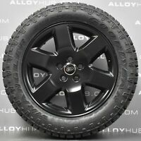 GENUINE LAND ROVER DISCOVERY 4/3 19INCH HSE BLACK ALLOY WHEELS+GOODYEAR WRANGLER