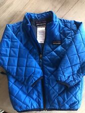 Patagonia Baby Nano Jacket Blue Size 12-18 Months Warm Windproof CUTE