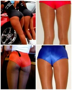 Dolfin Run Logo Shorts for Hooters Girl Uniform Running Work Out Gym Athleisure