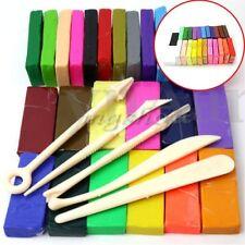 32 Farben Polymer Ton Clay Knete Modellieren Modellierung Fimo+5x Werkzeug Sets