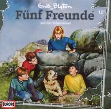 CD * FÜNF FREUNDE - HÖRSPIEL / CD 12 - AUF DER FELSENINSEL # NEU OVP =