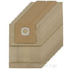 10 Sacchetto Per Aspirapolvere Per MOULINEX Power Clean 1500-5-Lagen tessuto non tessuto 627