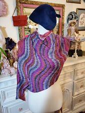Missoni Vintage Silk Scarf Square Kaleidoscope Design