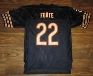 NFL Chicago Bears Matt Forte Mens Jersey, #22, Reebok, Blue, Size M, GUC