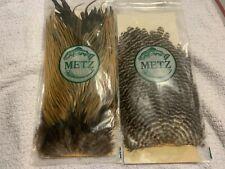 2 Metz Saddles