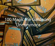 100 Magic the Gathering UNCOMMONS ! MTG ! Sammlung LOT TCG CARDS