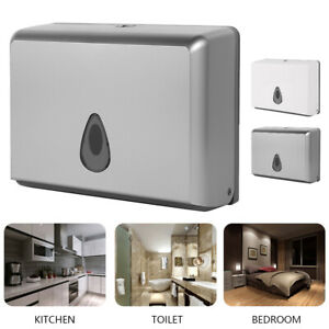 Toilet Papper Towel Wipe Dispenser Holder Box Wall Mounted Kitchen Pull Wipes //