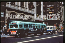 Duplicate Slide Bus Gmc 2651 Mabstoa New York City 1960'S M-5