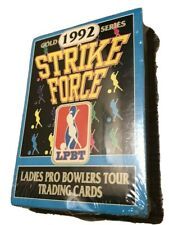 VTG 1992 Gold Strike Force Ladies Pro Bowlers Tour Trading Cards Brand New!