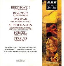 BORODIN: POLOVTSIAN DANCES + DVORAK STRAUSS MENDELSSOHN PURCELL - BBC RADIO CD