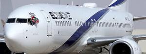 JC20081A 1/200 EL AL ISRAEL B737-900(ER) PEACE TITLE 4X-EHD W/STAND FLAP DOWN