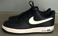 Nike Air Force 1 Low AF1 Shoe Midnight Navy White 488298-436 Men's Size 9.5