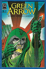 GREEN ARROW # 10  - DC 1988  (vf)  Shado - Long Bow hunters Sequel Pt 2