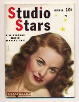 1950 STUDIO STARS MINI MAGAZINE #1 Jeanne Crain Movie Screen Film Actors B. Hope