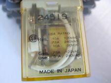 Used IDEC RH4B-U-AC120V 3PDT 14 Blade 10A 120VAC Relay
