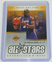 2002-03 Fleer Hot Shots All-Stars Shaquille O'Neal #156 HOF NBA  L.A. Lakers