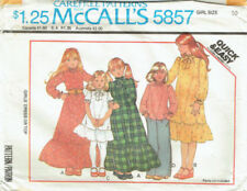 McCall 's Child Sewing Patterns Vintage