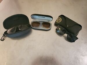 Lot of 3 Sunglasses - Foster Grant, Ray-Ban, Cocoons Sunwear