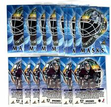 1X GUY HEBERT 1997-98 Pinnacle Masks #6 PROMO SAMPLE Bulk Lot available NMMT