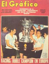 RACING CLUB Vs RSC Anderlecht Costa del Sol Cup 1968 Magazine
