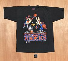 New Vtg Vintage America's Favorite New York Knicks x Looney Tunes Tee Size L