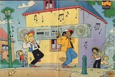 STRIPWEEKBLAD EPPO 1984 nr. 36 -  POSTER SJORS & SJIMMIE / VARIOUS COMICS