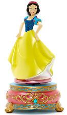 Disneyland Paris Disney Store Snow White 7 Drawfs Musical Figurine Ornament NEW